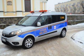 Nowe auto Straży Miejskiej już na służbie