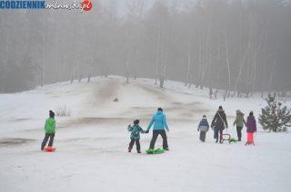 Od lat Łysa Góra to jedyny stok saneczkowy w Mławie
