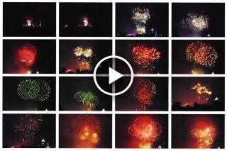 Bajeczny pokaz fajerwerków i noworoczne życzenia z Edynburga