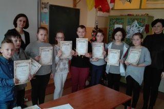 Mistrzowie ortografii wśród uczniów SP nr 2