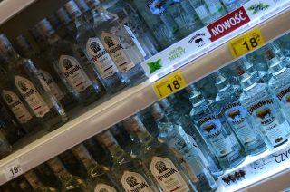 Gruzini chcieli ukraść alkohol za ponad 500 zł. Wpadli na gorącym uczynku