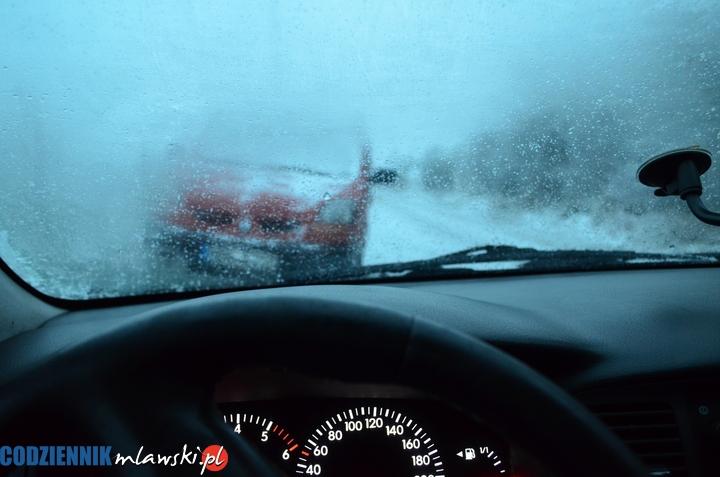 prognoza pogody Mława ostrzeżenie dla Mazowsza alert gołoledź marznące opady Mława pogoda