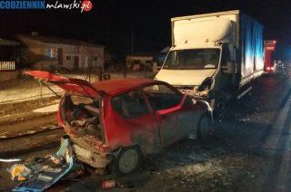 Wypadek w Dalni. Zderzyły się trzy samochody