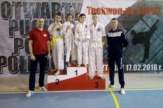 Zawodnicy teakwondo z Mławy i Moraw na podium w Olsztynku