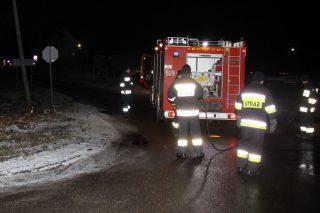 """Śmiertelne potrącenie pieszego na """"siódemce"""" koło Kuklina. Policja apeluje do świadków"""