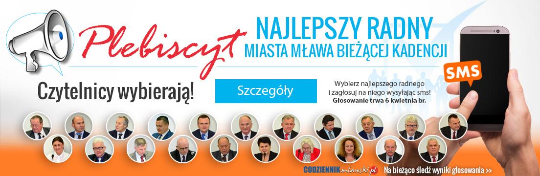 Plbiscyt Najlepszy Radny Miasta Mława bieżącej kadencji