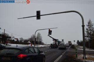 Sygnalizacja świetlna na Nowowiejskiej zadziała w najbliższy weekend