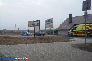 Wypadek na Warszawskiej. Potrąconego chłopca zabrała karetka