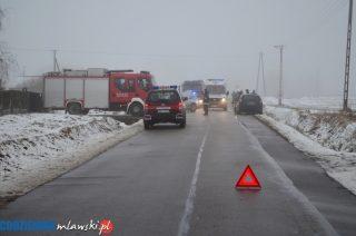 Wypadek w Windykach