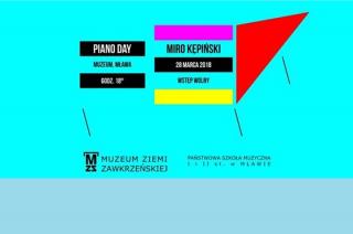 PIANO DAY – dzień pianina/fortepianu w muzeum, zapraszamy