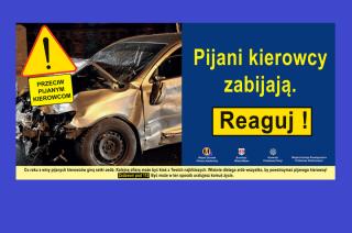 """Mława. Rusza kampania """"Przeciw pijanym kierowcom 2018"""""""