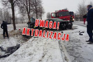 AKTUALIZACJA: Wypadek koło Trzcianki