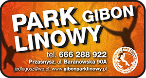 Gibon park linowy Przasnysz