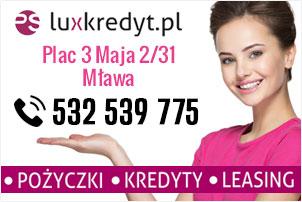 luxkredyt.pl Mława pożyczki kredyty leasing
