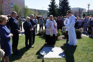 Wmurowano akt erekcyjny pod pomnik bł. ks. Jerzego Popiełuszki