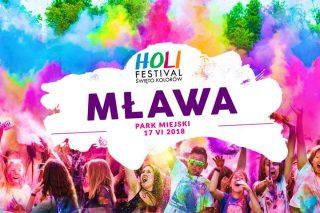 Holi Festival Poland, czyli święto kolorów zawita do Mławy!