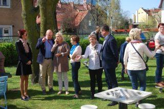 Delegacja miasta z wizytą w Dziennym Domu Pomocy w Gdańsku