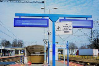 Na dworcu PKP działa system informacji dla pasażerów