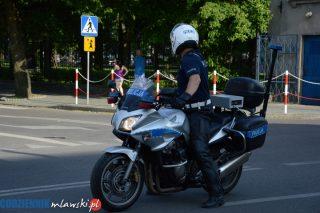 Skontrolowali motocyklistów. Dwa mandaty