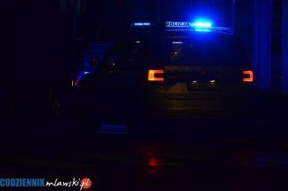Były zastępca komendanta policji pijany kierował autem, potem znieważył funkcjonariuszy