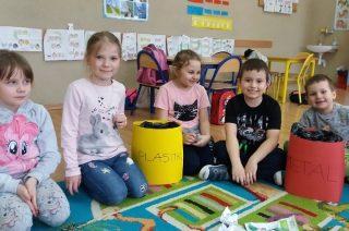 Ekoludek uczy dzieci z SP 3 chronić środowisko