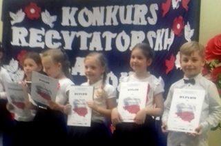 Kolejne sukcesy przedszkolaków z SP 3 w konkursach recytatorskich