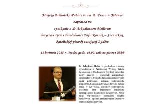Arkadiusz Meller o życiu Zofii Kossak – Szczuckiej. Zapraszamy