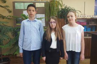 "Uczniowie SP nr 7 finalistami konkursu ""Młody Matematyk"""