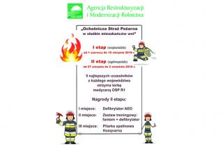 """Od jutra rusza konkurs """"Ochotnicza Straż Pożarna w służbie mieszkańców wsi"""""""
