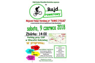 Gmina Wieczfnia Kościelna zaprasza na rajd rowerowy