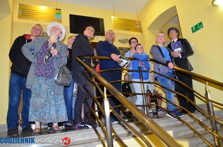 Mława Noc Muzeów 2018 zwiedzanie ratusza