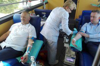 Honorowi dawcy krwi są też w Dzierzgowie