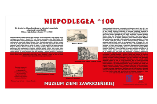 Wystawa plenerowa NIEPODLEGŁA^100