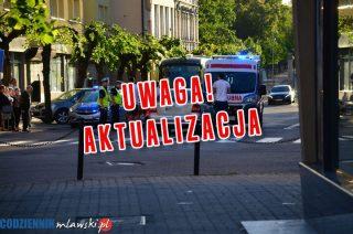 AKTUALIZACJA: Potrącenie pieszej na ulicy 3-go Maja