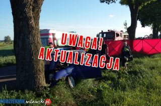 AKTUALIZACJA: Śmiertelny wypadek w Rumoce