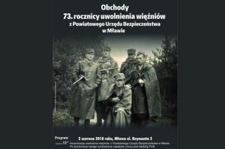 Inscenizacja uwolnienia więźniów z siedziby UB w Mławie. Zapraszamy w najbliższą sobotę
