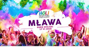Holi Festival Poland Mława święto kolorów w Mławie
