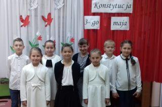 O Konstytucji 3 Maja w Szkole Filialnej w Grzebsku