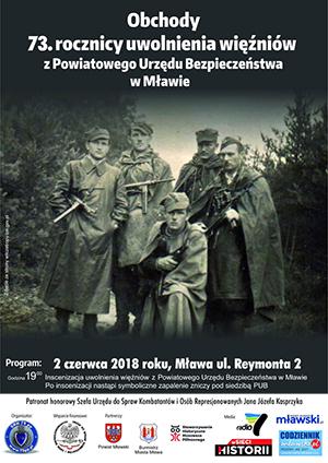 Inscenizacja uwolnienia więźniów Mława