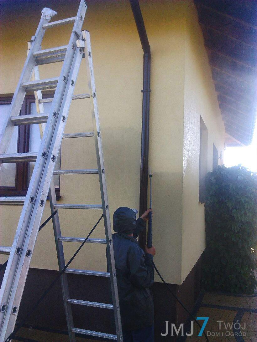 Mława Jarosław Chyl JMJ7 Twój Dom i Ogród czyszczenie elewacji czyszczenie kostki brukowej czyszczenie dachu czyszczenie ogrodzeń malowanie elewacji pielęgnacja ogrodów skalniaki solidnie terminowo