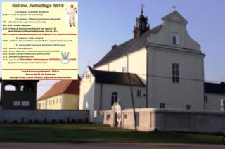 Sanktuarium w Ratowie zaprasza. Zobacz bogaty i ciekawy program Dni Świętego Antoniego