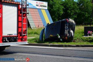 """Zderzenie na skrzyżowaniu """"siódemki"""" i Dzierzgowskiej"""