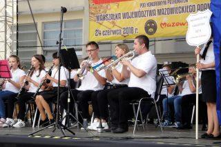 Orkiestra Dęta z Wieczfni Kościelnej uczestniczyła w festiwalu – Żuromińskie Granie 2018