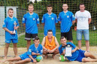 ZS nr 3 najlepszy w turnieju  beach soccera