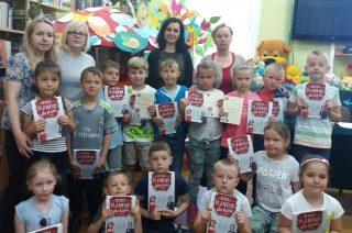Przedszkolaki z SP  3 z wizytą w Miejskiej Bibliotece Publicznej