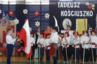 """""""Tadeusz Kościuszko – bohater narodowy Polski i Ameryki"""". Przedstawienie"""