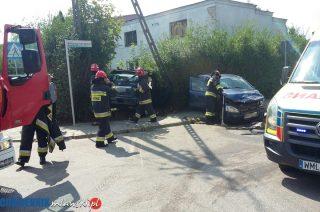Zderzenie na skrzyżowaniu Wójtostwa i Torfa Załęskiego. Są poszkodowani