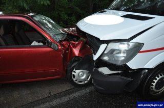 Pijany mławianin spowodował wypadek pod Iłowem