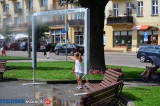 Jest kurtyna wodna przy św. Wojciechu
