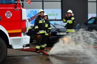 Wczorajsza ulewa. 17 interwencji straży pożarnej
